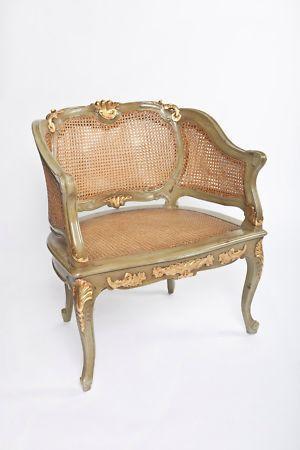 Antique Wicker Chair Ebay