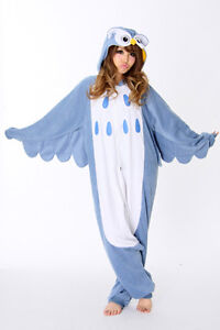 New Unisex Kigurumi Cosplay Costumes Pajamas Animal Onesie Sleepwear S/M/L/XL