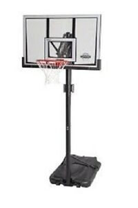 Lifetime 52-Inch Backboard with Portable Basketball System