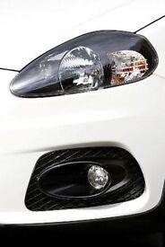 Pair of Brand new Genuine Fiat Series 1 Grande Punto Abarth Headlamps