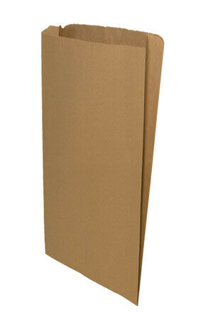 *Closeout Price-Limited Quantity* 14 x 3 x 21 Brown Gusseted Paper Bag (500/cs)