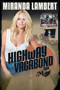 ★★Miranda Lambert ★★@ Northlands Coliseum TUE Oct 3 7PM