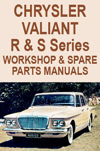 CHRYSLER VALIANT R & S Series WORKSHOP MANUAL