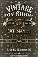 Toy Show May 5th