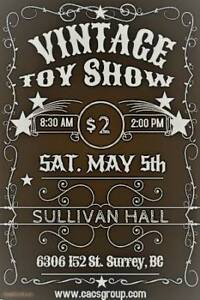 Vintage Toy Show May 5th