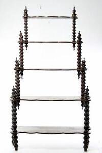 antique victorian shelves