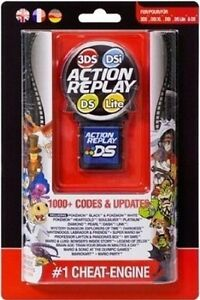 Action Replay 3DS DSi DS & Lite Pokemon Black White Cheats DS NDS Game BRAND NEW