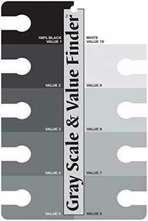 Color Wheel Co - Gray Scale and Value Finder