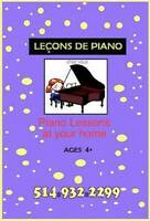 Piano Lessons for Child beginners