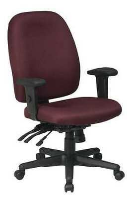 Office Star 43819-227 Desk Chairfabricburgundy18-21seat Ht