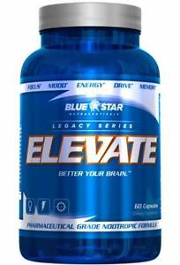 Blue Stars Elevate and Fusion Glutamend