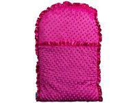 Cherise pink chanelle nap mat