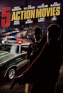 5 Action Movies (DVD, 2015) New