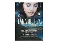 Lana del Rey ticket for Liverpool echo arena