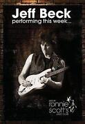 Jeff Beck Live CD