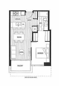 1br - 512ft2 - Penthouse 1 Bdr Suite with Parking+ Locker Wall C