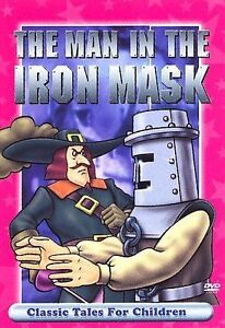 Classic-Tales-For-Children-The-Man-In-The-Iron-Mask-DVD-2007-WORLD-SHIP-AVA