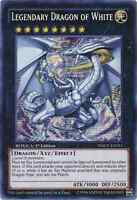 Yugioh Legendary Dragon of White Prismatic Secret Rare yu gi oh