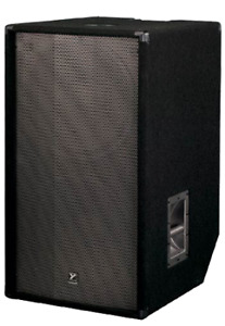 One pair Yorkville 800 watts Subwoofers