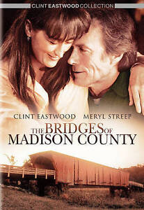 THE BRIDGES OF MADISON COUNTY [DVD] - NEW DVD