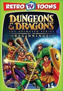 Dungeons  Dragons: The Animated Series - Beginnings (DVD, 2015)