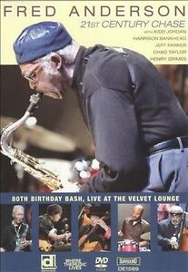 USED (VG) Fred Anderson 80th Birthday Bash: Live At The Velvet Lounge (2009) (DV