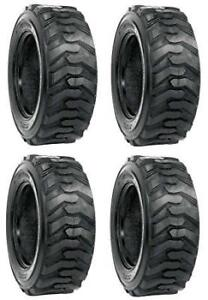 Skid Steer and Implement Tires 10-16.5 & 12-16.5 & 11L-15