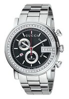 Montre GUCCI watch Diamond G chrono