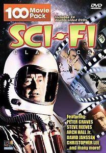 Sci-fi Classics 100 Movie Pack 24 DVDs From ALIEN CONTAMINATION to WHITE PONGO - Deutschland - Sci-fi Classics 100 Movie Pack 24 DVDs From ALIEN CONTAMINATION to WHITE PONGO - Deutschland