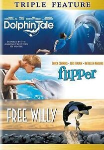 Dolphin Tale /Flipper /Free [DVD New]