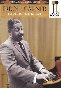 NEW Jazz Icons: Erroll Garner Live in '63 & '64 (DVD)