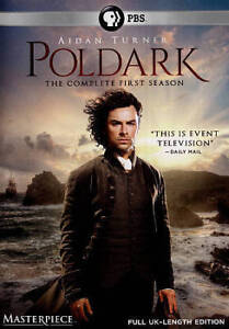 Poldark The Complete First Season 1(DVD,2015,3-Disc Set)NEW US PBS Masterpiece