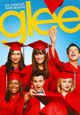 Glee: The Complete Third Season 3 (DVD, 2012, 6-Disc Set) NEW SEALED
