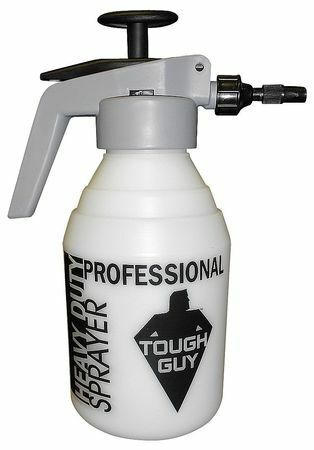 Tough Guy 150300T 2 Qt. Plastic, Metal Compressed Air Sprayer With Trigger