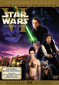 Star Wars VI Return Of The Jedi DVD 2006, 2-Discs, Limited Edition WS H.Ford - $10.00