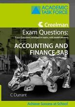 Creelman Exam Questions: Accounting and Finance 3AB Menora Stirling Area Preview