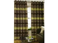"""2 pairs of curtains 64"""" x 90"""" drop"""