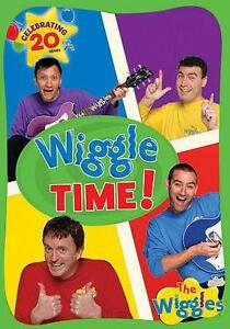 The Wiggles Wiggle Around The Clock Vhs Ebay
