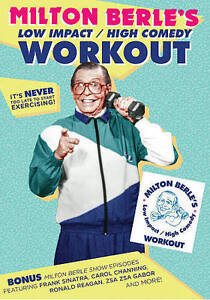 Milton Berle: Low Impact/High Comedy Workout (DVD, 2016) SEALED