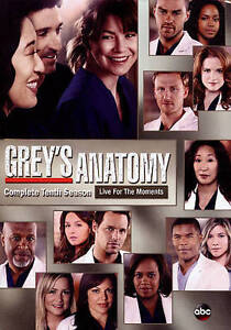 Greys Anatomy: Complete Tenth Season (DVD, 2014, 6-Disc ...