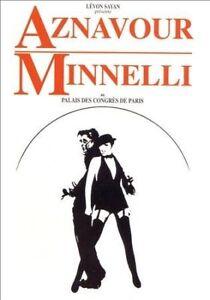 NEW Aznavour/Minnelli: Au Palais Des Congres De Paris (DVD)