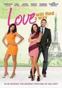 Love Will Find a Way (DVD, 2014) Christian Keyes, Carl Payne  ***Brand NEW!!***