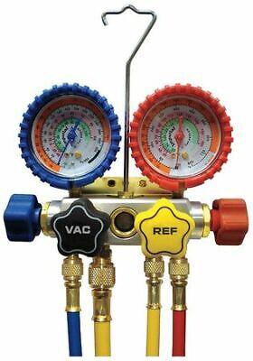 Imperial 843-cs Mechanical Manifold Gauge Set4-valve