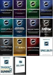 22 DVDs BEST TIMOTHY TIM SYKES COLLECTION
