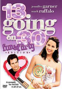13 Going On 30 DVD, 2006, Fun Flirty Edition  - $1.50