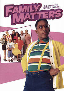 Family Matters: The Complete Seventh Season 7 (DVD, 2016, 3-Disc Set)