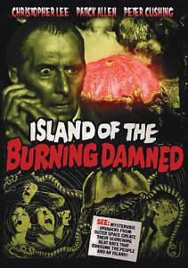 Island Of The Burning Doomed DVD, 2017 -christopher Leee-peter Cushing-aliens - $5.00