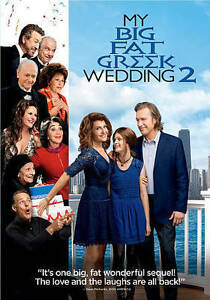 My Big Fat Greek Wedding 2 (DVD, 2016)