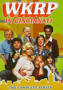 WKRP in Cincinnati:The Complete Series(DVD,2014,13-Disc Set,Season 1-4,90 ep)NEW