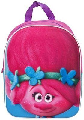 Dreamworks Trolls 3D EVA Poppy Junior Backpack Holiday School Bag